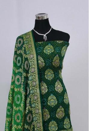 Georgette Minakari Bandhani Suit