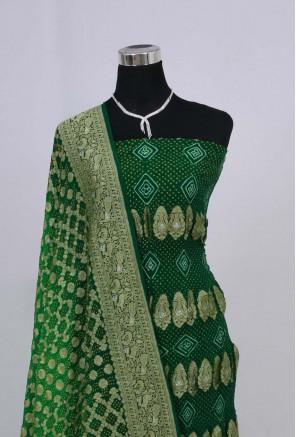 Banarasi Georgette Bandhani Suit