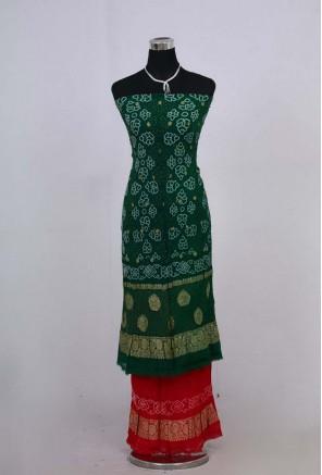 Banarasi Georgette Tiny Bandhani Suit