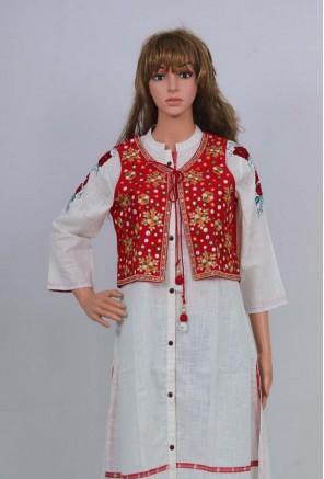 women's, girls embroidery Jacket/shrug/Kutch work koti.