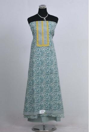 Cotton Batik Printed Unstitched Salwar Suit
